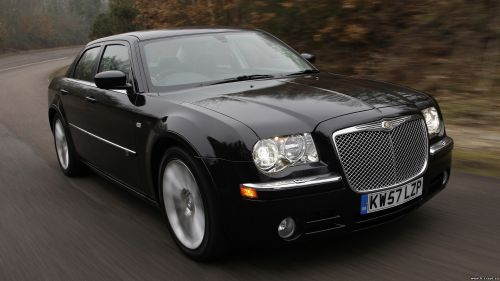 Chrysler 300C Sedan Black